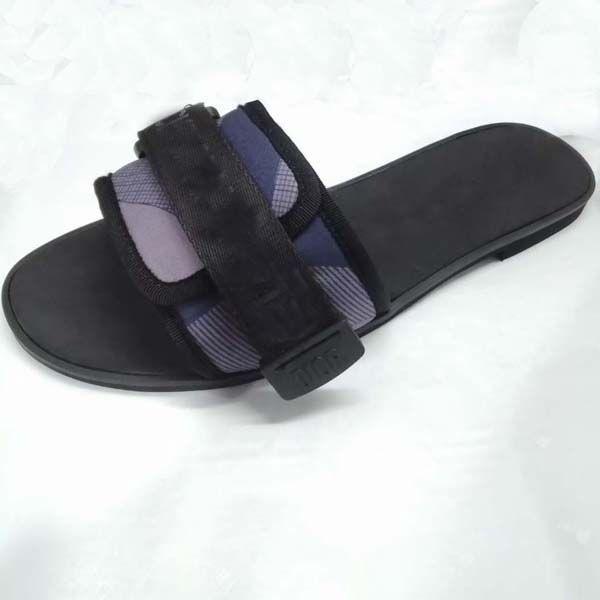Womens aperta 2020Superior Qualità Toe Canvas sandali Flatform larga banda Vamp A rilievo Beach Outdoor Zeppe piatto Slipper