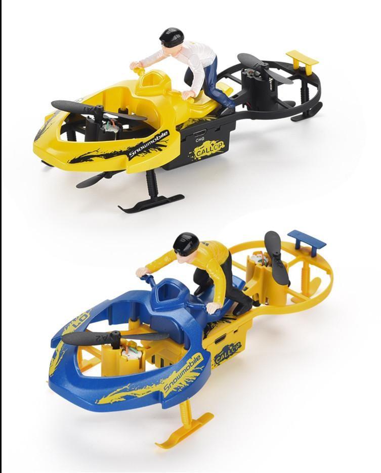 2.4G Vier-Achsen-Fernbedienung Schneemobil Auto für Kind elektrischen Spielzeug Kind Geschenk 04
