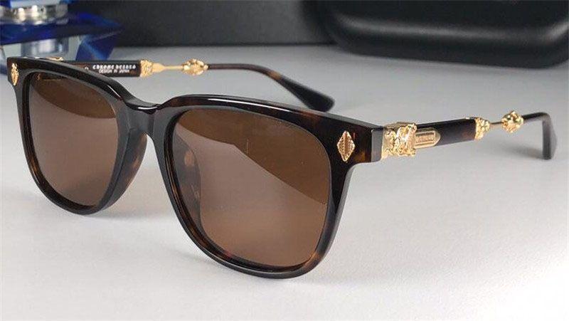 Новые популярные ретро мужские солнцезащитные очки Melice Punk Style дизайнер ретро квадратная рамка с кожаным ящиком, покрытием Отражающие анти-УФ-линз высочайшее качество
