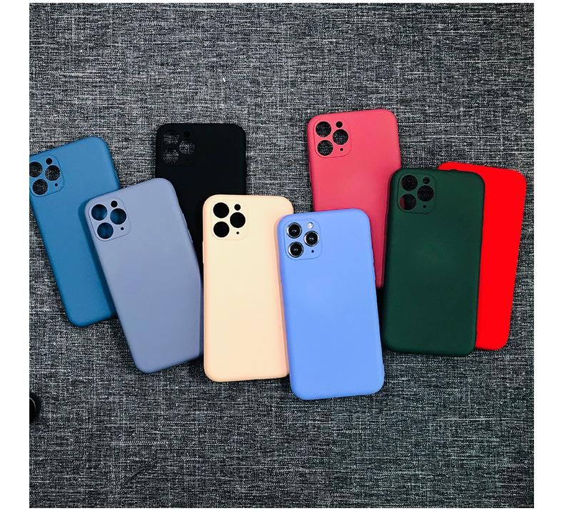 Full wrap resemble Liquid silicone cell phone case for iphone 11 pro max xr x/xs max 7/8 plus 6/6s plus