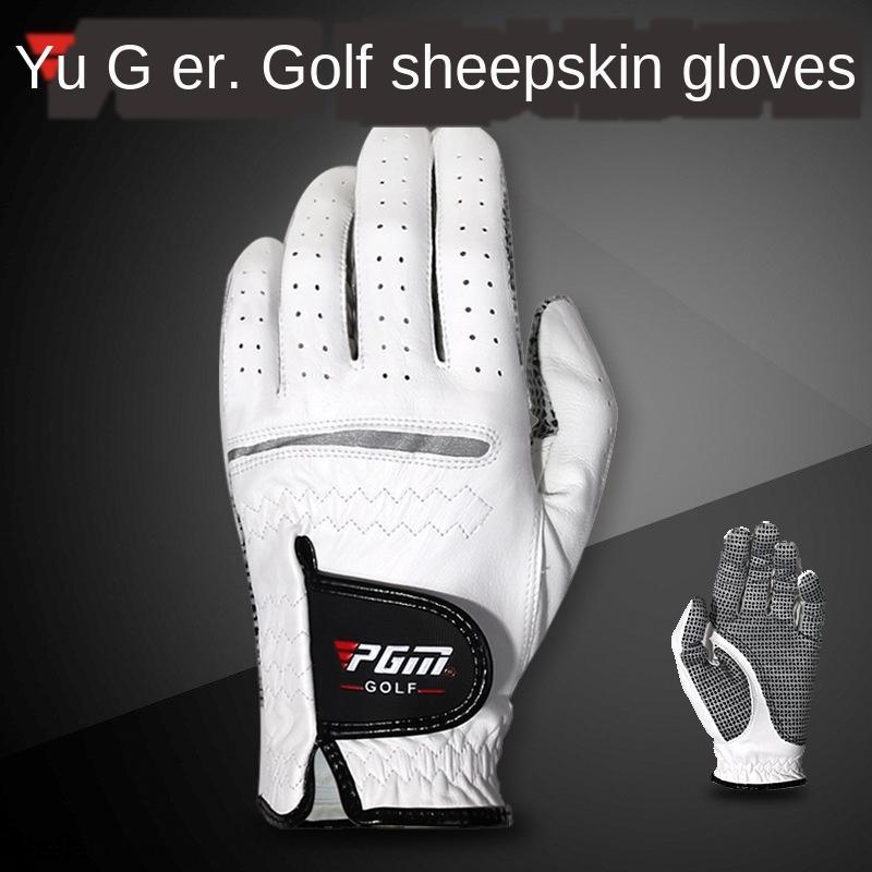 PGM koyun derisi aşınmaya dayanıklı kaymaz sol / PGM koyun derisi aşınmaya dayanıklı kaymaz golf soldan sağa h / sağ el ve eldiven golf eldiven