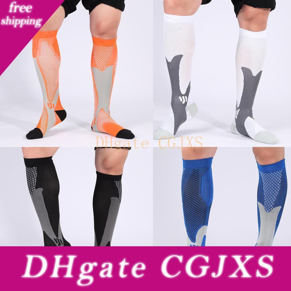 Sıkıştırma Çorap İçin Erkekler Doğa Sporları Çorap Moda Sıkıştırma Kadınlar Plus Size Elastik Bisiklet Çorap