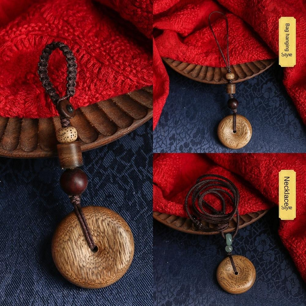 Chenxiang Ahşap hediye anahtar anahtarlık zinciri kolye okul çantası kolye küçük güvenlik aracı hediye V6Pxi