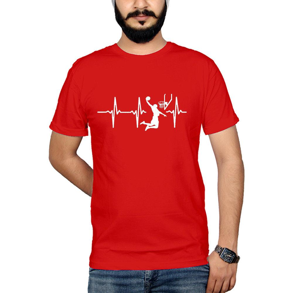 2019 Hot Sale Super Fashion Basketball Goal T-Shirt Player Sports Gift Patent Vintage T Shirts Cotton Custom Shirts