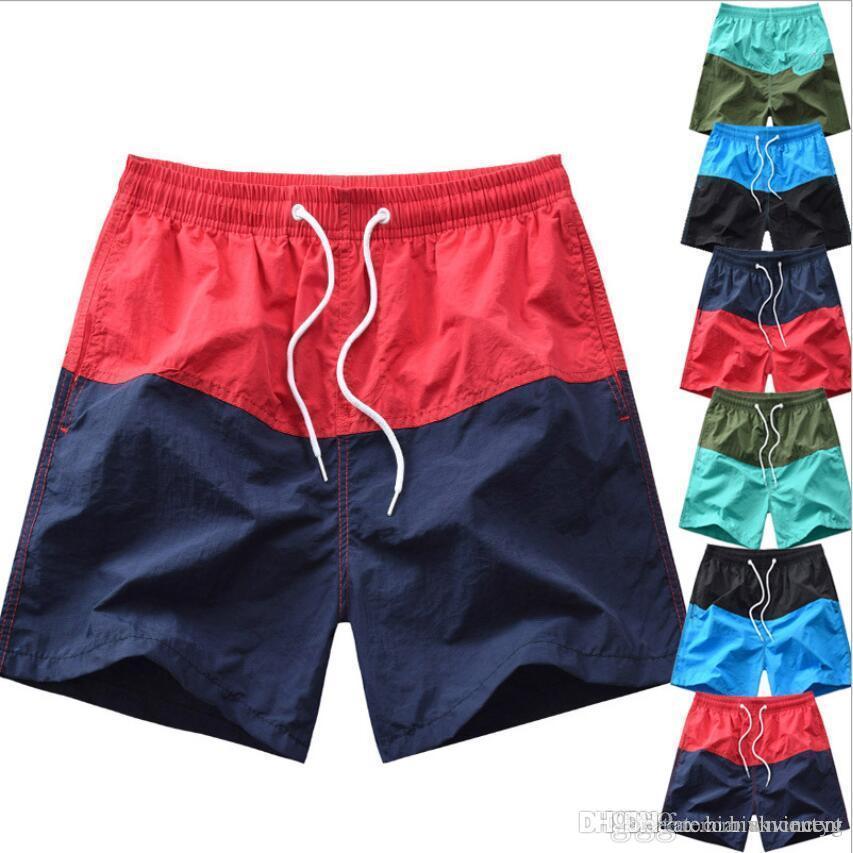 Nouvel été gros pantalons lâche sec de revente Plage Caleçon Casual pantalons d'impression de maillots de bain pour hommes en tête pantalons S-Trunks Mode Livraison gratuite