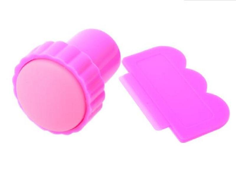 Funktioner: 1 / Ny Nail Art Stamping Stamp Tools Scraping Knife Set 2 / Färg Bedövning professionella mönster på naglarna när som helst du vill. Och