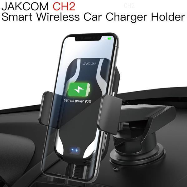 iş yeri izle celular android olarak Cep Telefonu Mounts Tutucular JAKCOM CH2 Akıllı Kablosuz Araç Şarj Montaj Tutucu Sıcak Satış