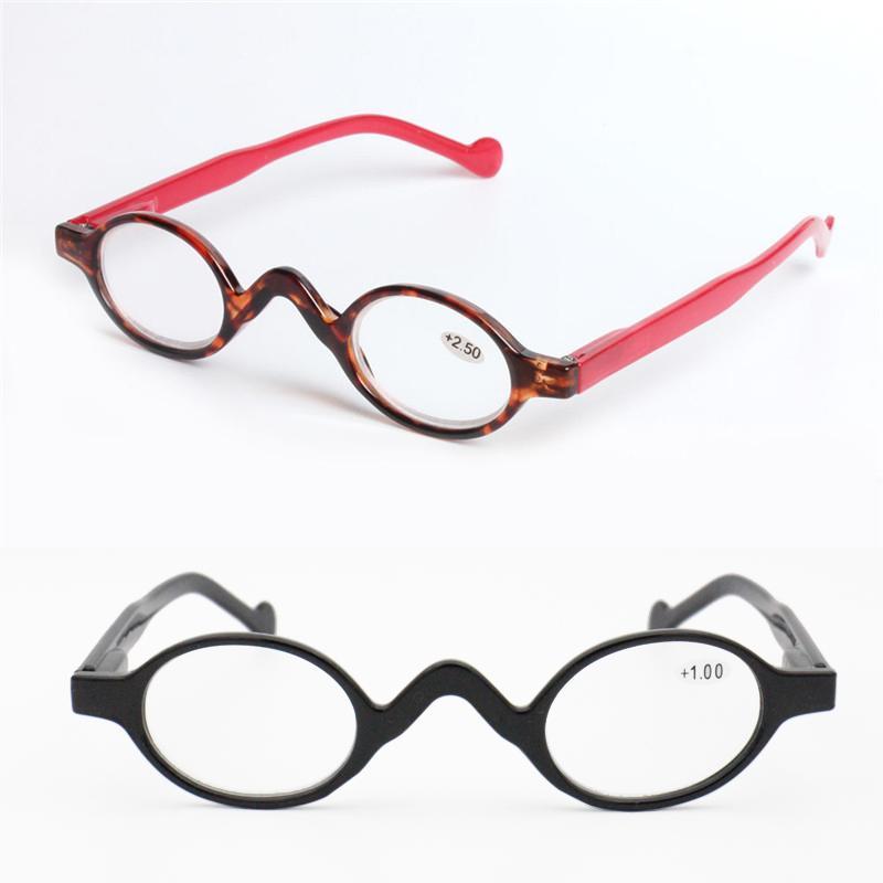 leitura tamanho moda rectro pequenos copos pequenos ellips Forma built-in articulação flexível óculos hyperiopia moda