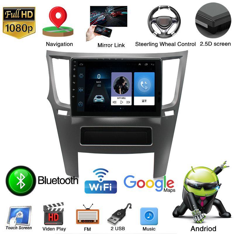 Android 10 Quad Core Car Video Player para a Rádio Multimedia Legado Outback SUBARU Stereo Vídeo SWC GPS WIFI
