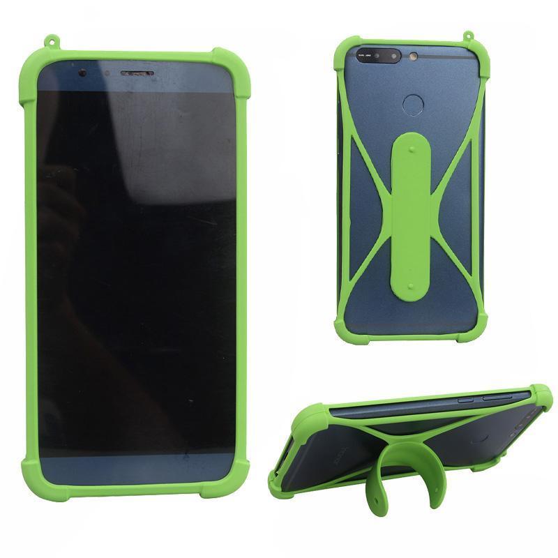 cgjxsPhone Case Universal Shatter -Résistant Mobile Phone Cases Shell Partage Universal Mobile Phones Set Silicone Téléphone Border Couverture arrière