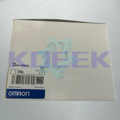 1PC НОВЫЙ Omron модуль CPU CQM1-CPU43 быстрая доставка