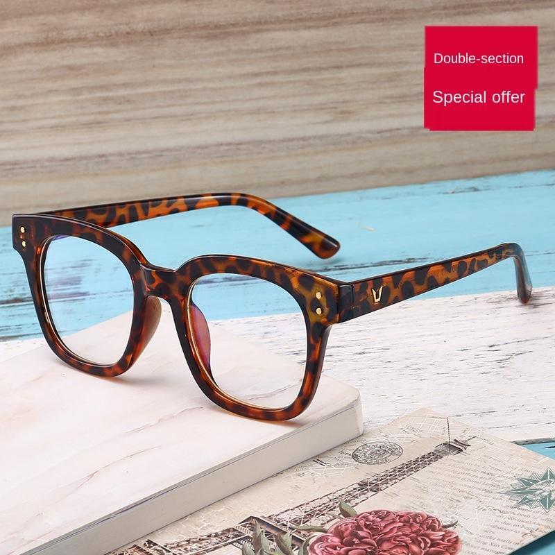 G Sydney Myopia même type de clou lunettes M transparent frame même type de lunettes myopie jambe anti-bleu clair épais plat