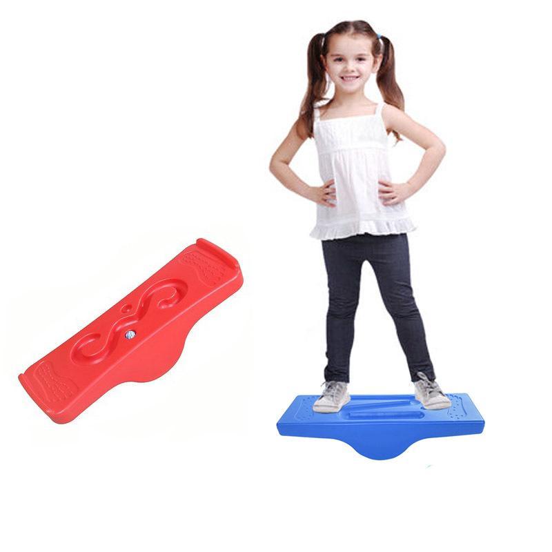 Баланс Совет качалки Качели Для детей Дети Спорт Вне Открытый Игрушки Сад Backyard Yard Indoor Игры Сенсорное Play 200925