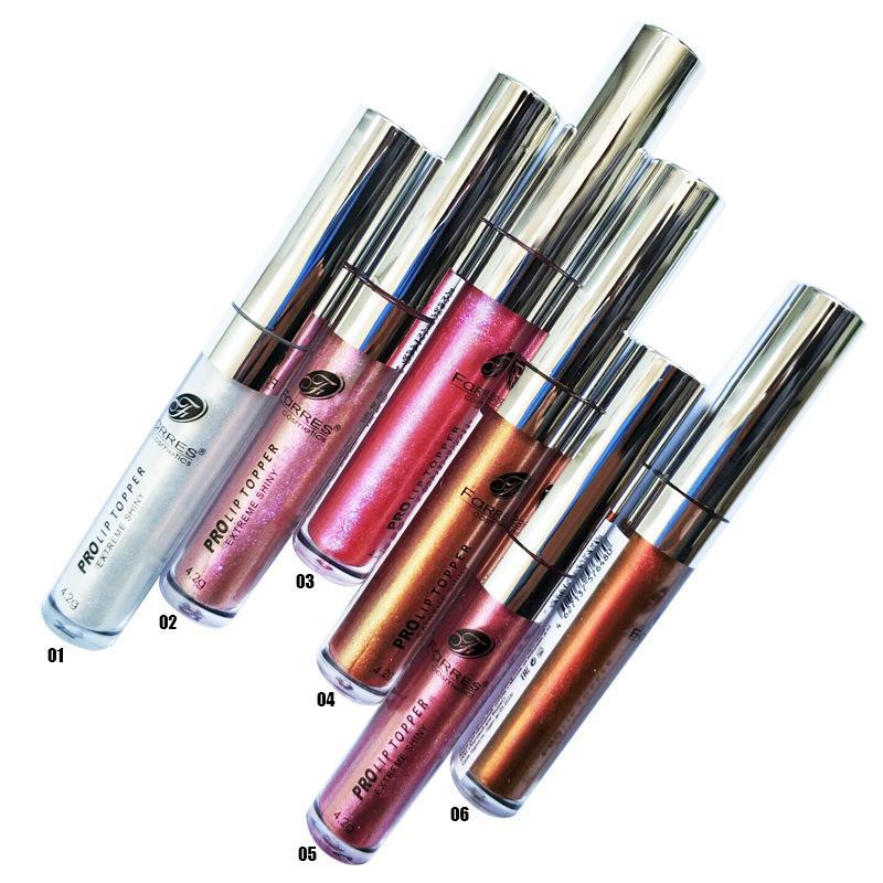 Lipgloss Damen Glitter Lippenstift Liquid Macosmetics Nackt täglich lang dauerhaft charmant