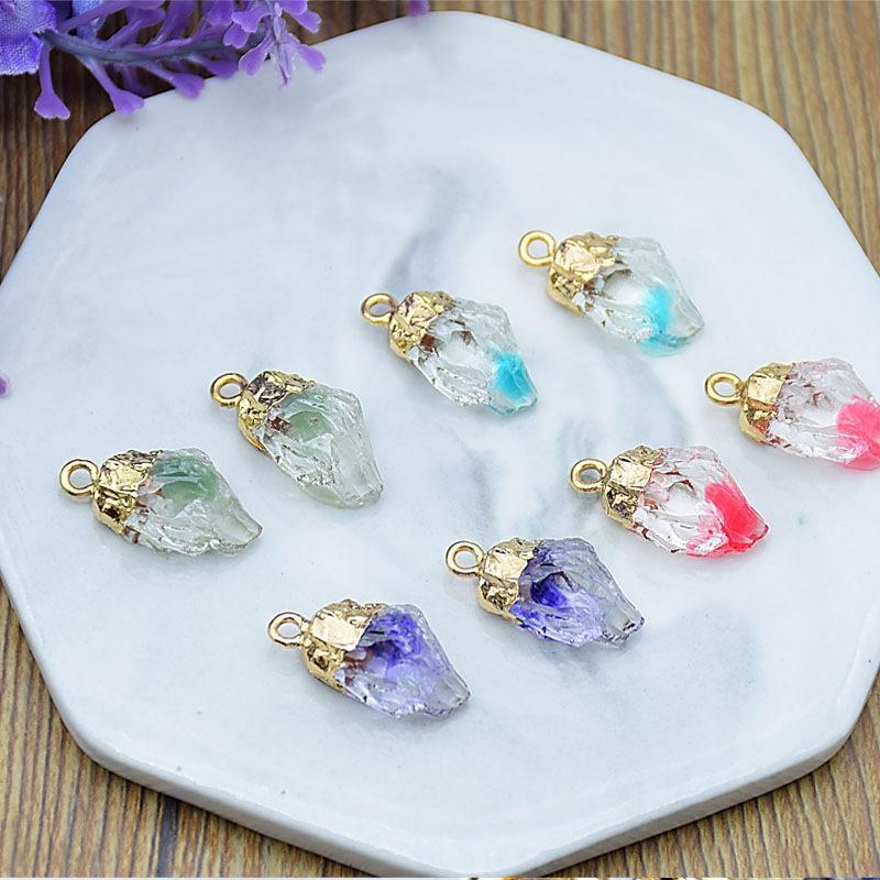 Fuguang корейского сырья смолы специальные формы камень ожерелье цепь Diy цепь кулон кулон DIY аксессуары ручной работы