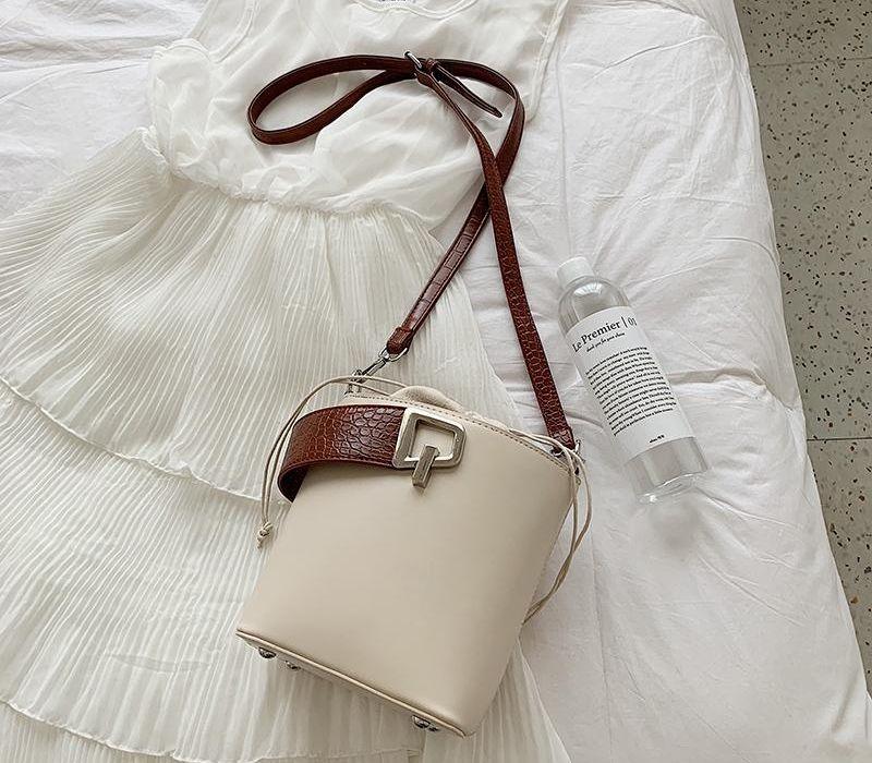 Elegant S Lock Pattern Tote Bag 2020 Designer New Stone Bucket Quality Women Female PU Handbag Leather Shoulder Messenger02 Kpjud