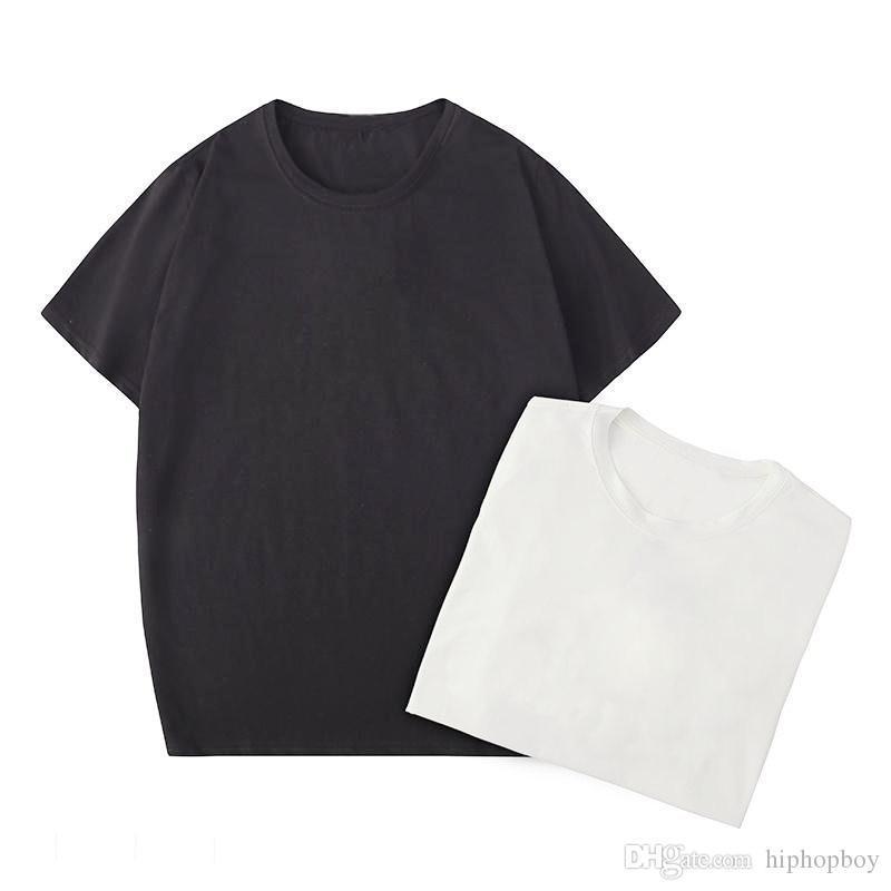 Paris Mens Stylist T Shirt Polos Fashion Round Neck Short Sleeve Black White Fashion Men Women High Quality Tees Size S-XXL