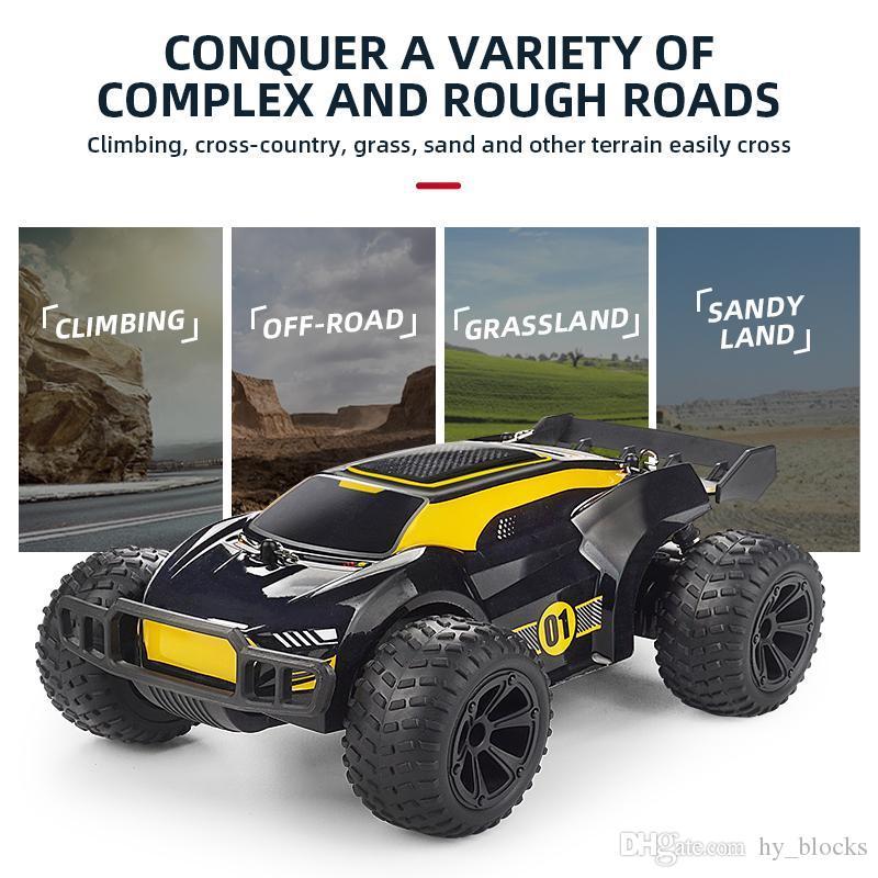 RC Vehicle Climbing Remote 2.4G Automobili Velocità di controllo Ragazzi Abbastanza Drift Car Racing Off 15m / h Road Electric Toys Giocattoli MDOLO