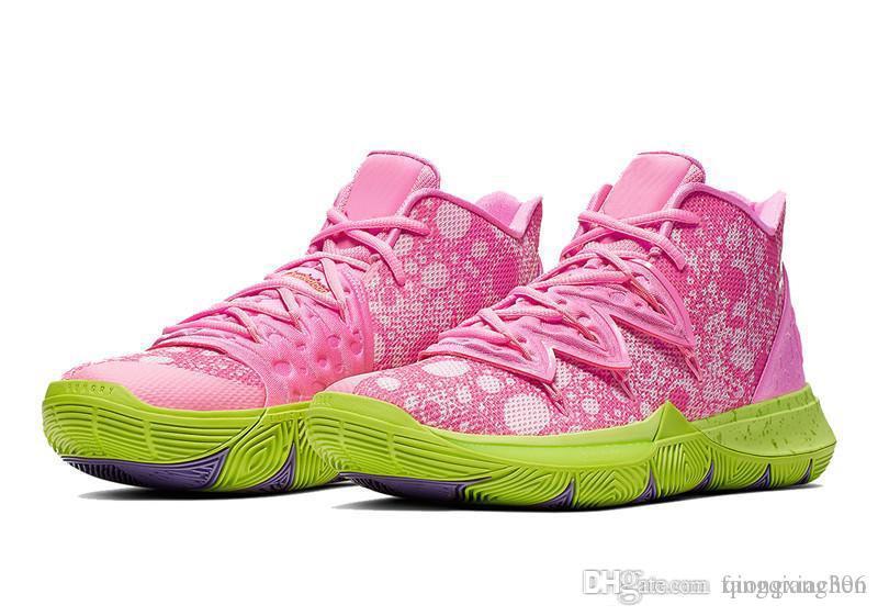 Kyries 5 Basketball Shoe Pineapple