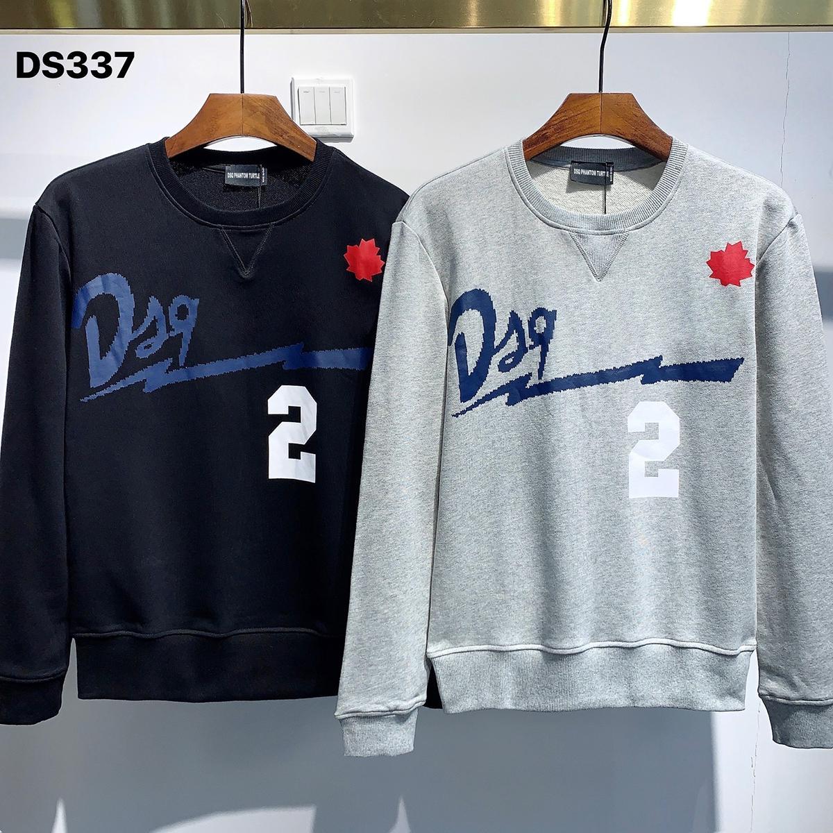 DSQ Phantom Turtle Hoody New Herren Designer Hoodies Italien Mode Sweatshirts Herbst Druck DSQ Hoodie Männliche Top Qualität 100% Baumwolle Tops 01207