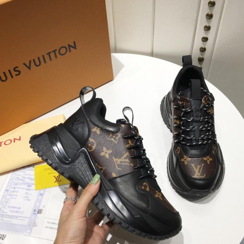 120 Los nuevos zapatos de moda casual de las mujeres de lujo del diseñador, zapatos de las mujeres ocasionales al aire libre, materiales de alta calidad, con la caja original