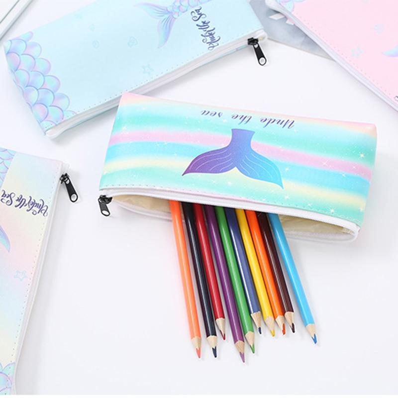 لوازم بسيطة مقلمة مكتب الطلاب القلم صندوق المدرسة حالة الإبداعية القلم صندوق Astuccio سكولا 1PC