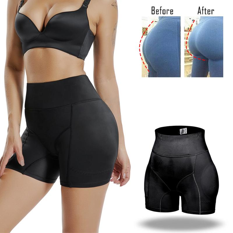 Miss Moly Invisible Butt Lifter Booty Enhancer Padded Control Panties Body Shaper Padding Panty Push Up Shapewear Hip Modeling Y200710