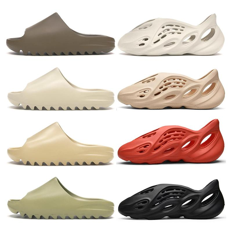 slide kanye west slippers  Triple blanc noir pur Platinum Clay orange Sunrise Lime formateurs Blast sport taille sneaker 40-46
