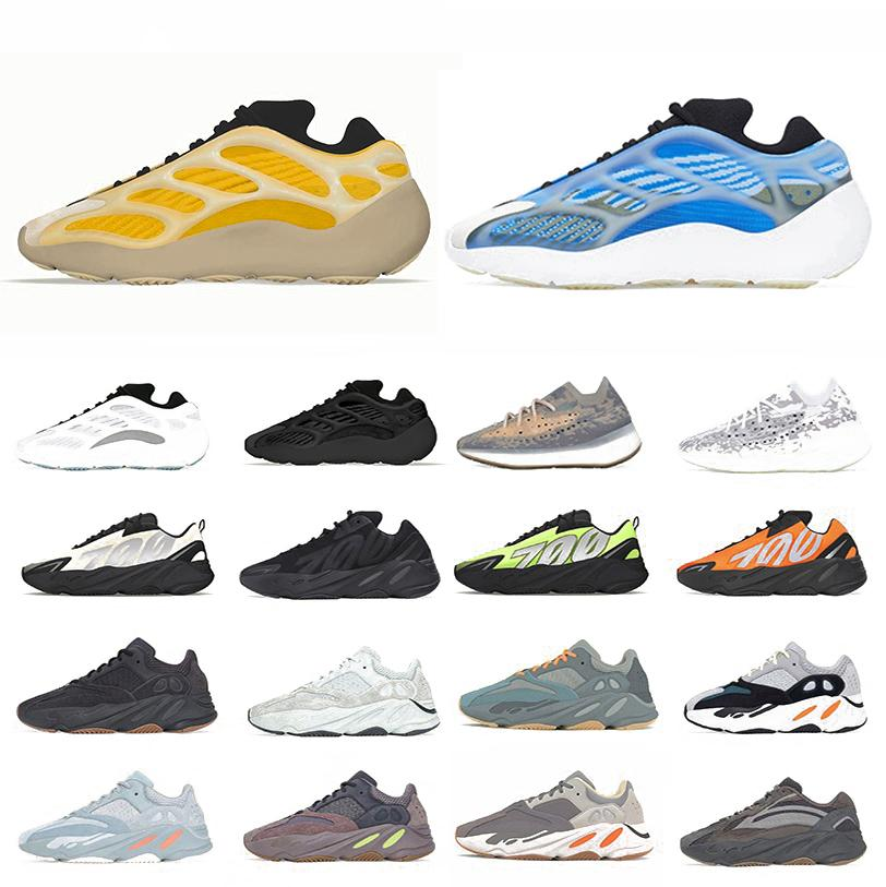 Adidas yeezy 700 v2 yeezys Azareth Blue Oat 380 Reflective Alien Kanye west Uomo donna scarpe da corsa Azael Alvah 700 Utility Black V3 MNVN sneakers sportive da uomo zapatos