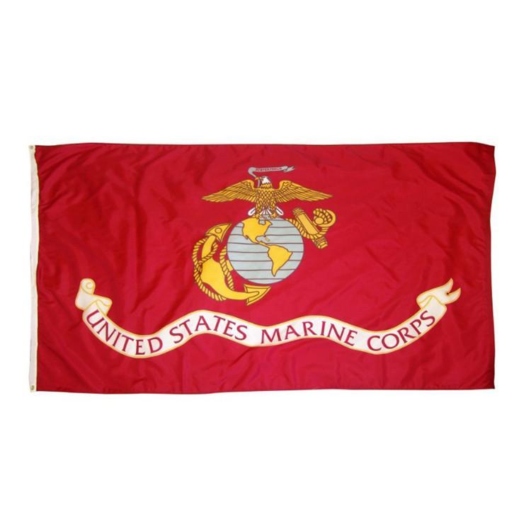 300pcs direkte Fabrik 3x5fts 90x150cm Vereinigte Staaten von amerikanischen USA US-Armee USMC Marine Corps Flagge