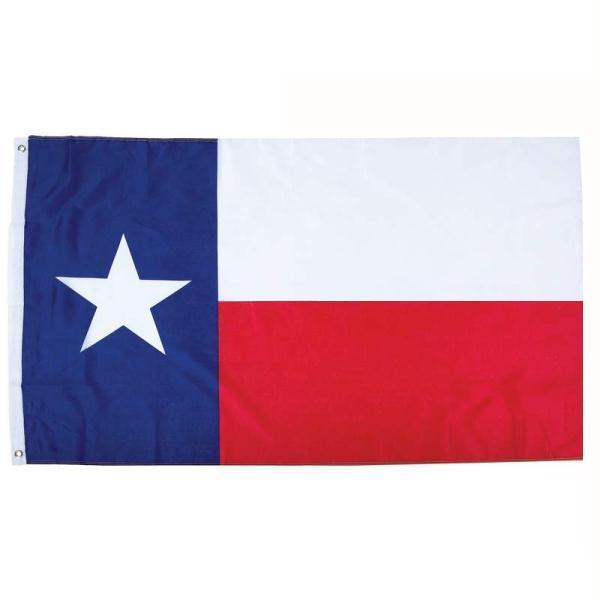50 adet direk fabrika toptan 3x5fts amerikan tejas Teksas'ın Teksaslı devlet bayrağı birleşik devletleri 90x150cm