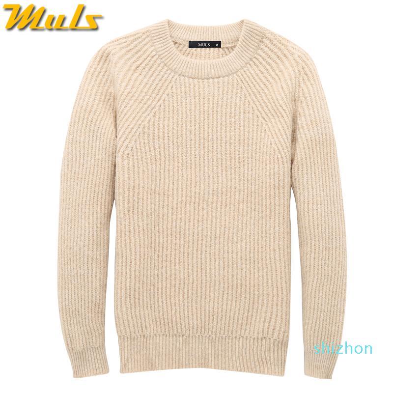 Горячие продажи тяжелых вязать свитер мужчин Пуловеры толстый зимний теплый свитер Перемычки Женщины Осень Мужчины Женщины платье Трикотаж плюс размер 4XL