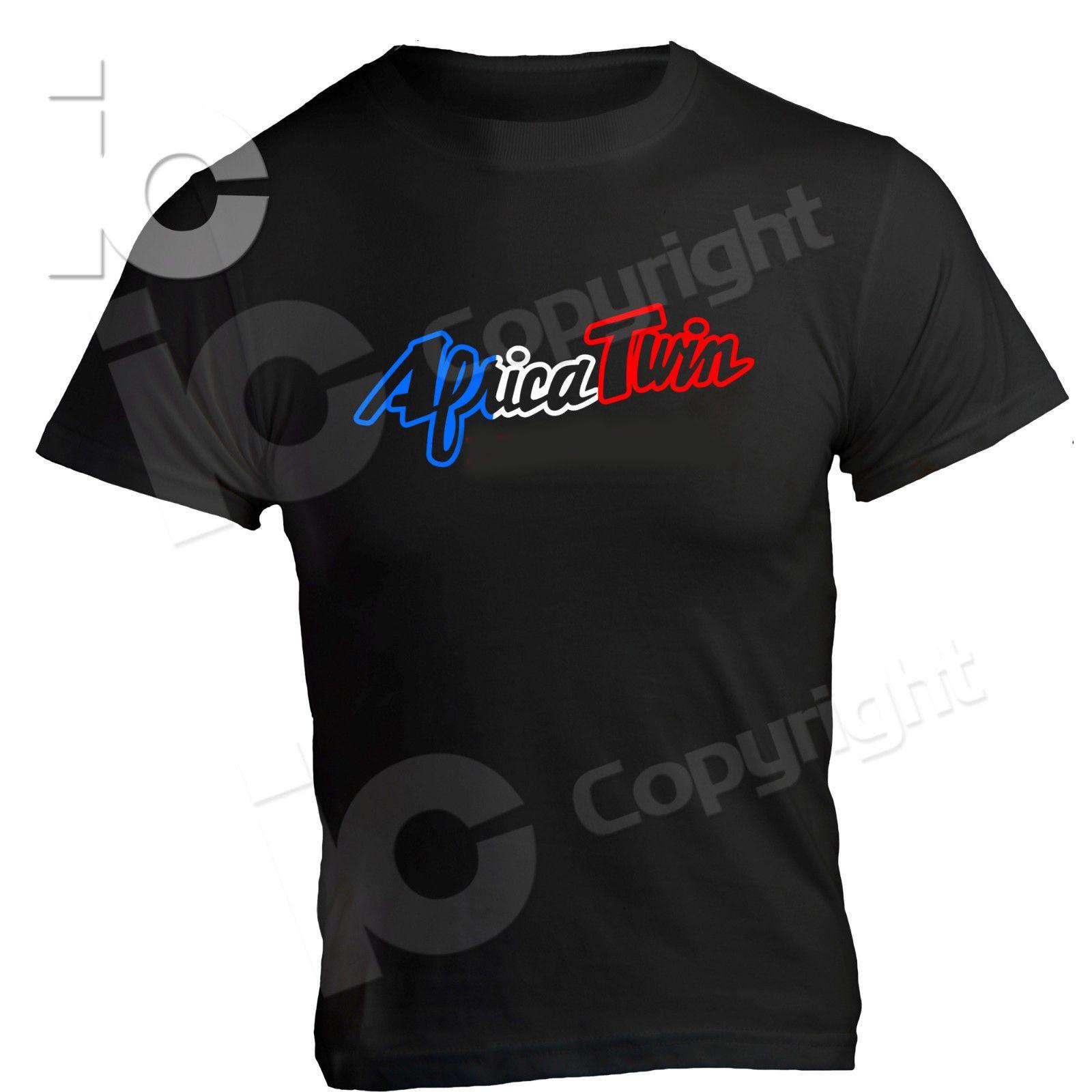 Neue Marke 2020 Motorrad-Motorrad-T-Shirt Africa Twin Crf 1000 Legend Jahrgang