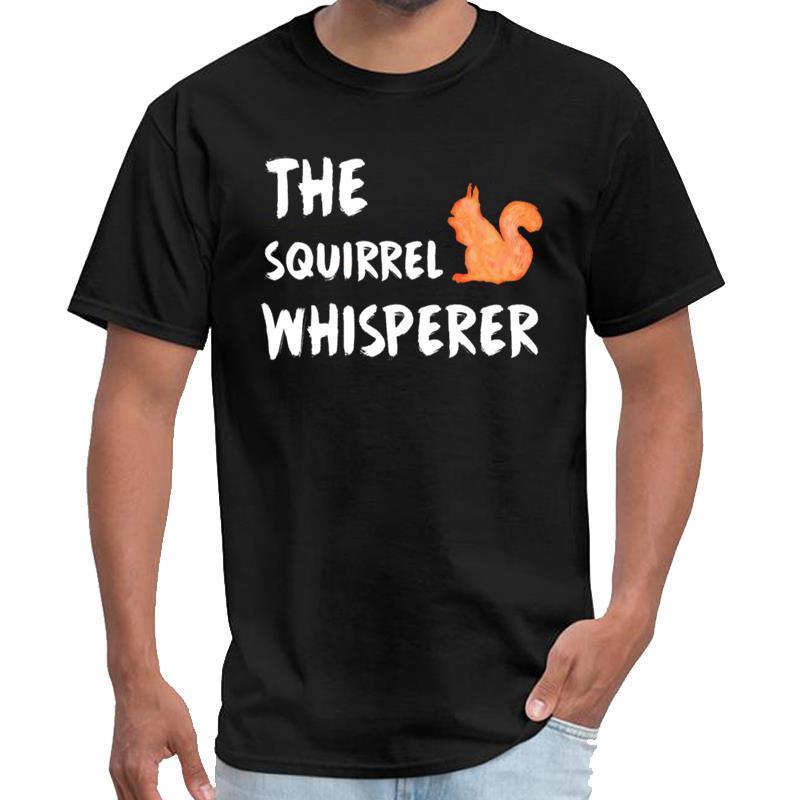 scoiattolo Vintage Whisperer maglietta di cotone uomini cotone maglietta degli uomini di 3xl 4xl 5XL 6XL tee top