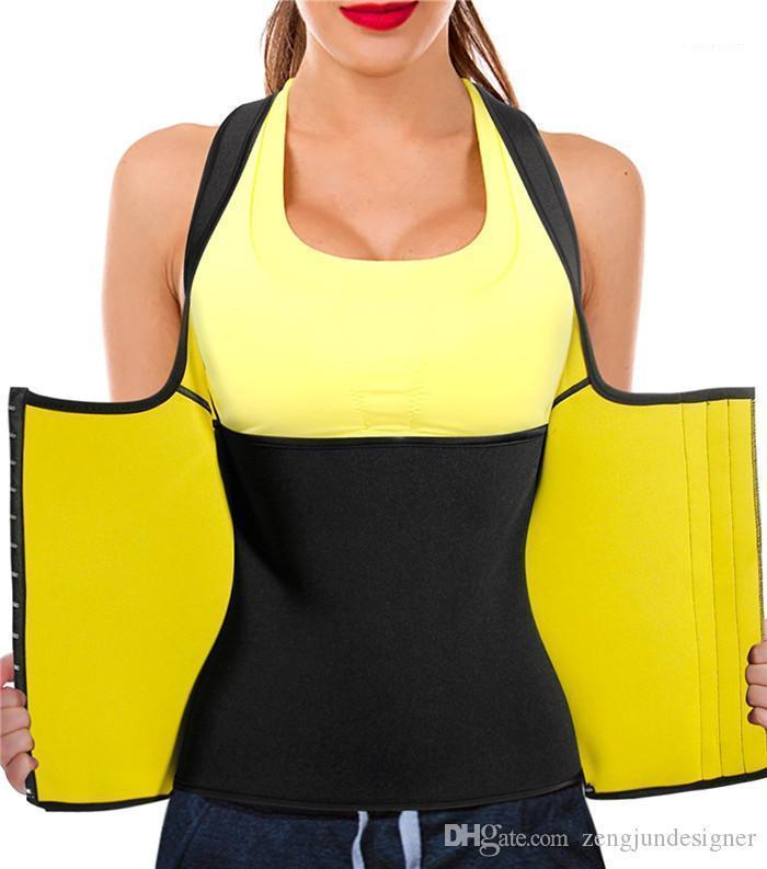 Moda de verano estilo de ropa femenina delgada ocasional de los corsés de la ropa interior para mujer delgada Diseñador Bustiers mangas Deportes