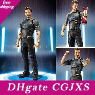 2019 Новые Мстители 3 Железный человек Тони Старк Модель Подвижные штучной игрушки фигурку модели