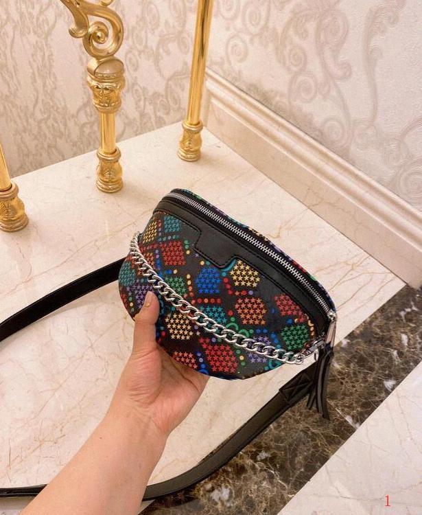 LOGO Bloco de Fanny couro sacos de qualidade Mulheres da bolsa Cosméticos sacos para Lady Marca Designer Magia compras Doce Balde clássico uBpH #
