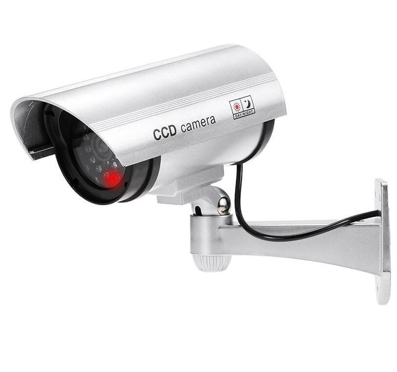 Bummy Fake Camera Видеоизображение Поддельная камера Светодиодный Светодиодный Монитор Безопасность Монитор Генератор Сигнал Открытый CCTV Домашняя Безопасность Поставки LSK807