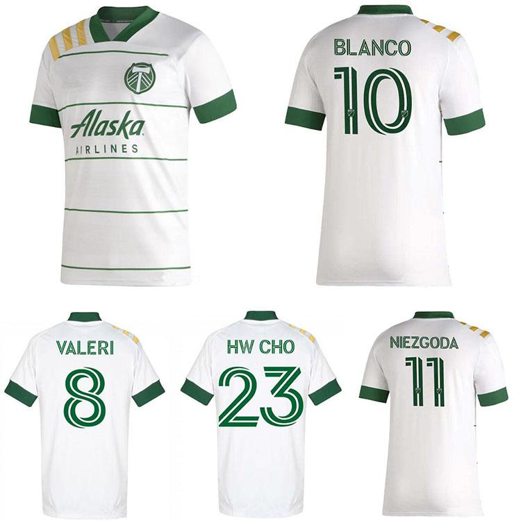 NEW 2020 2021 MLS Portland Timbers Home Soccer Jerseys 20 ...