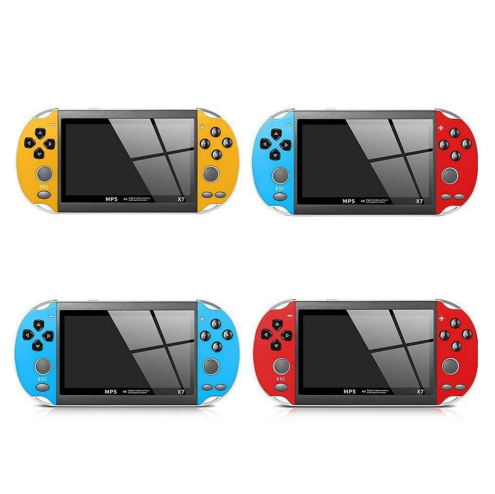 Portable X7 Game Player 8GB Mini Handheld Game Console with 4.3inch TFT Screen LCD Display Entertainment Video System Kids Gift