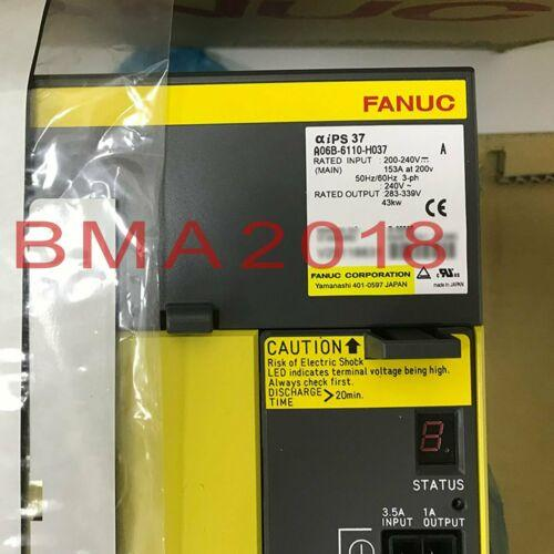 1PC New Fanuc сервоусилителя A06B-6110-H037 Один год поставки гарантия быстрой