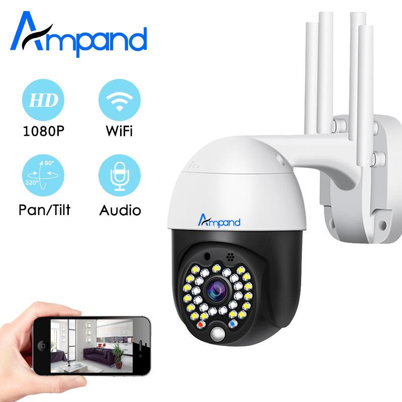 1080P Wifi Камера PTZ Открытый 2MP Водонепроницаемый Главная Безопасность беспроводной Облако хранения IP-камера Speed Dome видеонаблюдения