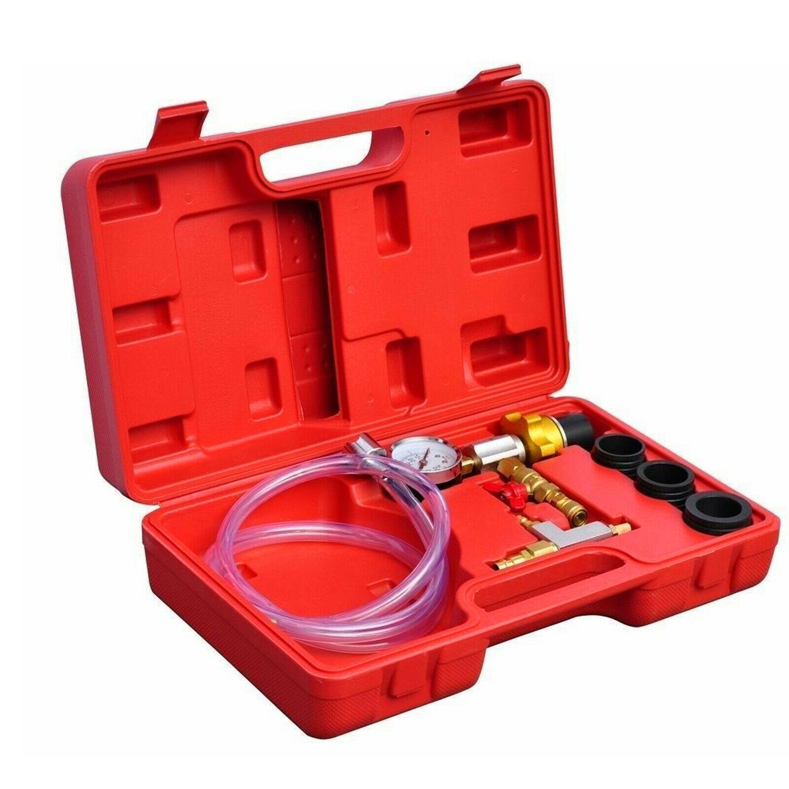 Strumenti Motore Sistema di raffreddamento a vuoto radiatore kit di ricarica di spurgo Set auto universale