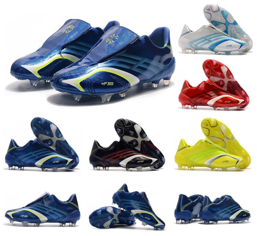 Sıcak Classics X 506+ F50 Tunit'in FG antik yollar Erkekler Futbol Ayakkabı Kramponlar Futbol Boots Boyut 39-45 geri yükleme