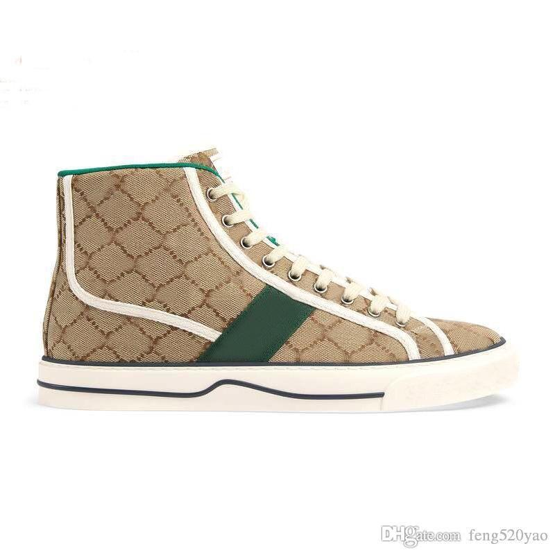 Designer Lady Flat Casual Boots Shoe Travel Lace-up Sneaker Lettere Donna 100% Pelle Moda Uomini Gym in esecuzione Gym High Top Scarpe da donna Grande taglia 36-41-42-45 US4-US11 con scatola