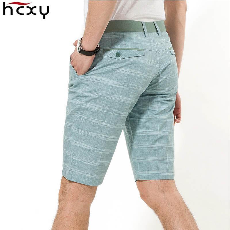 HCXY de qualité supérieure hommes de style d'été des hommes Commerce linge de plage en coton mâle marée short décontracté Y200901