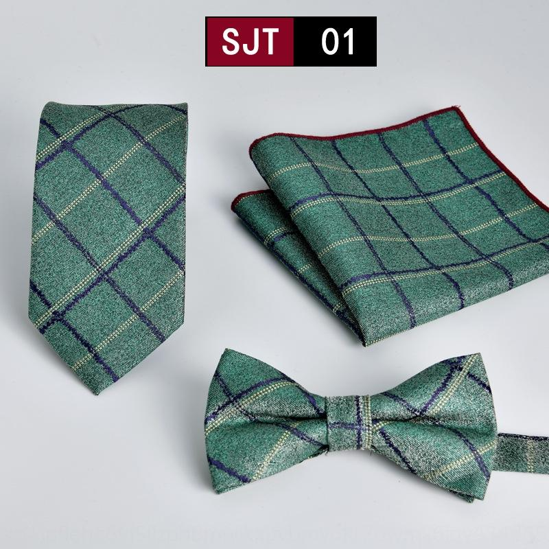 z6TwS Tie три предмета формальной одежды бизнес плед галстук из трех частей высоких Новых 1200 контактного костюма мужского Weimi 2020 Spring New