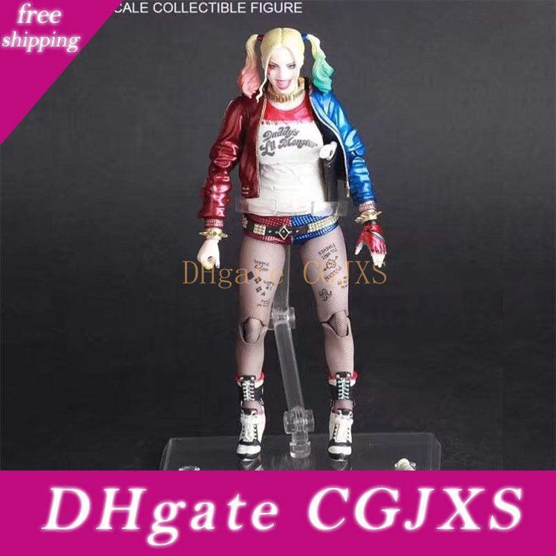 Crazy Toys Suicide Squad Harley Quinn Joker Jack Napier Pvc Collectible Action Figure Collectible Model Toy Doll
