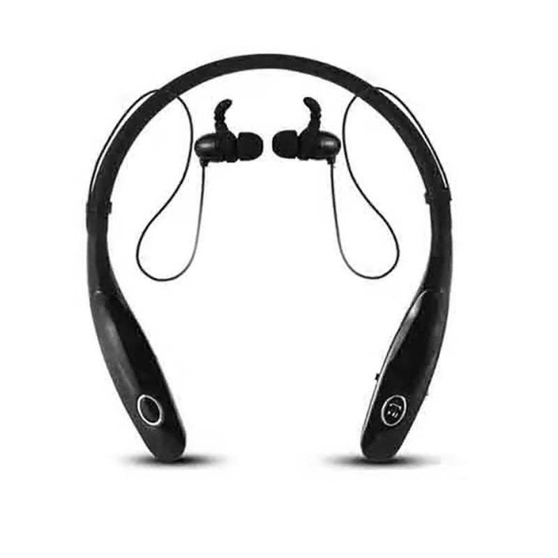 Fone de ouvido Bluetooth 34Hr Auscultadores sem fio que executam Sports Baixo som fone de ouvido com microfone para
