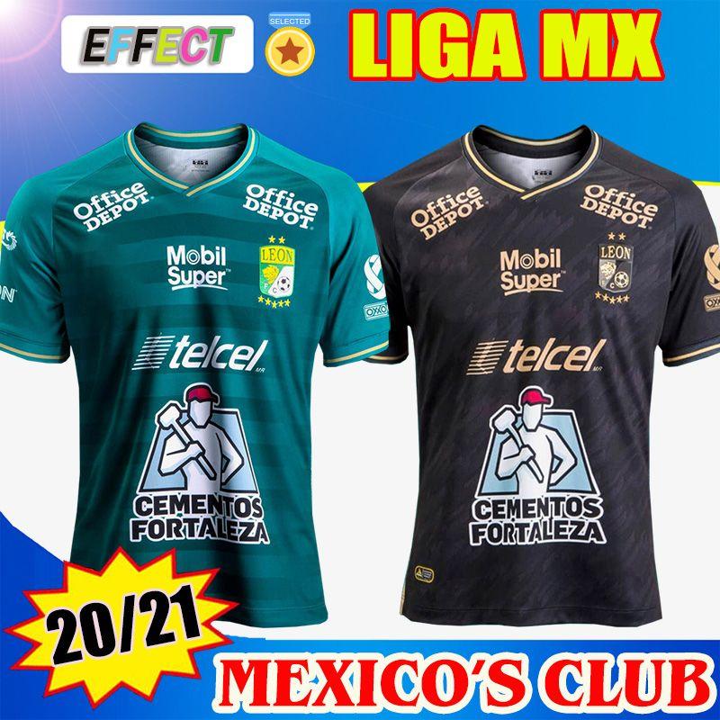 2020 2021 نادي ليون لكرة القدم جيرسي 20/21 LIGA MX LEON الإياب في كرة القدم قمصان Camisetas دي كيت الموحدة Futebol ليون جيرسي تايلاند